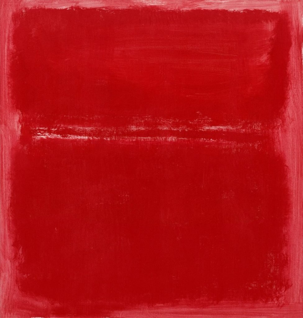 Untitled by Mark Rothko in The Primary Colours on Liberal Arts.