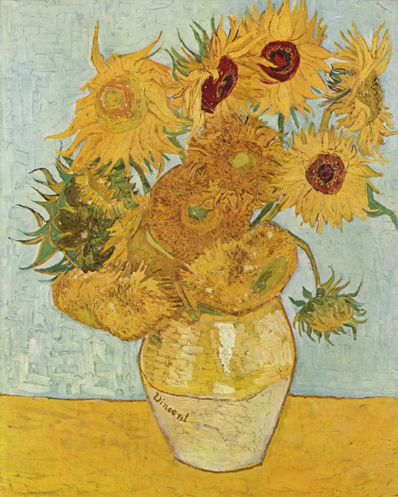 What is Liberal Arts? Sunflowers by Vincent van Gogh