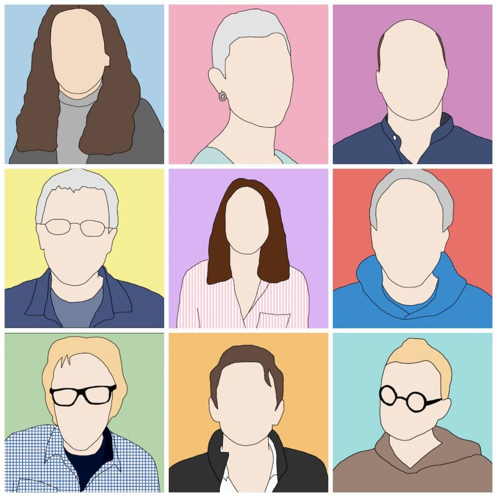 Profile pictures of the liberal arts team